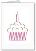cake greeting card pattern
